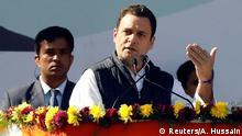 Indien Vereidigung Oppositionsführer Rahul Gandhi
