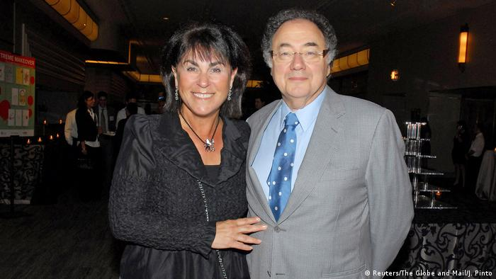 Honey Sherman und Barry Sherman at a fundraising event in 2010.