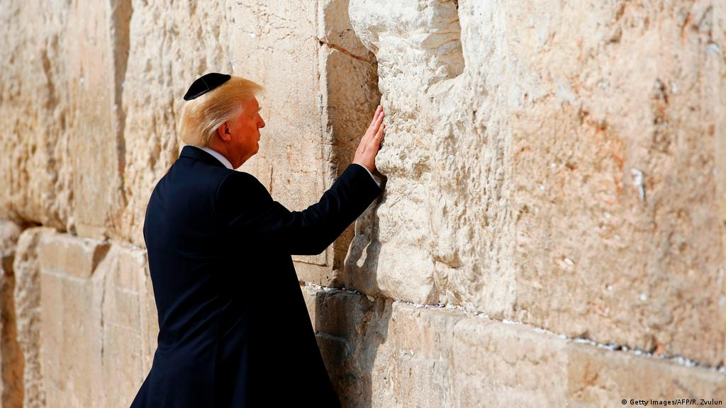 Israel floats plans for ′Trump Station′ by Jerusalem′s Western Wall   News    DW   27.12.2017