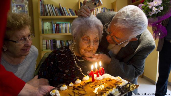 Ana Vela Rubio festeja seu 110º aniversário