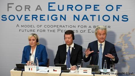 Праві популісти Європи у Празі вимагають згортання Євросоюзу