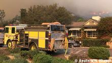 Kalifornien Montecito Thomas Fire San Ysidro Ranch