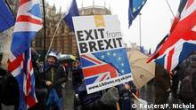 London Houses of Parliament Anti Brexit Protest (Reuters/P. Nichols)