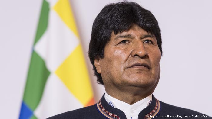 Evo Morales Ayma Präsident Bolivien (picture-alliance/Keystone/A. della Valle)
