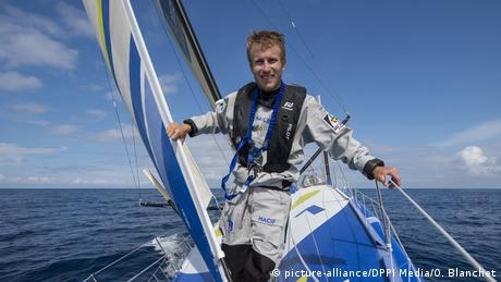 French skipper Francois Gabart (picture-alliance/DPPI Media/O. Blanchet)