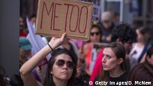 LOS ANGELES, CA - NOVEMBER 12: Demonstrators participate in the #MeToo Survivors' March in response to several high-profile sexual harassment scandals on November 12, 2017 in Los Angeles, California. The protest was organized by Tarana Burke, who created the viral hashtag #MeToo after reports of alleged sexual abuse and sexual harassment by the now disgraced former movie mogul, Harvey Weinstein. (Photo by David McNew/Getty Images)
