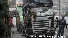 Berlin LKW nach Anschlag am Breitscheidplatz