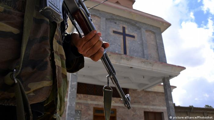 Security raised in Pakistan after militants attack on church