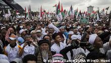 Indonesien Pro Palästina Demonstration in Jakarta