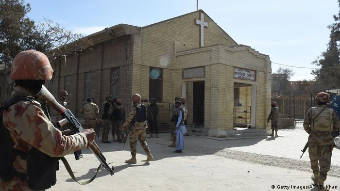Pakistan Anschlag auf Kirche in Quetta (Getty Images/AFP/B. Khan)