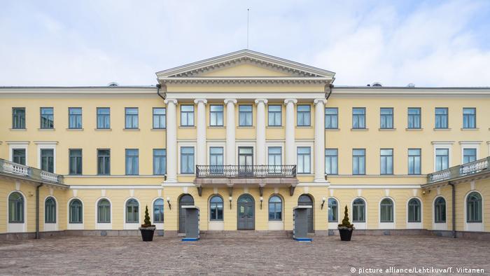 Резиденция президента Финляндии в Хельсинки