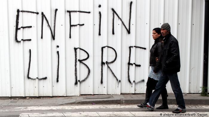 A Tunis, en 2011: la révolution en marche