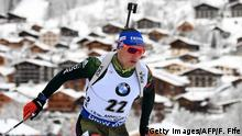 Biathlon in Grand Bornand Erik Lesser