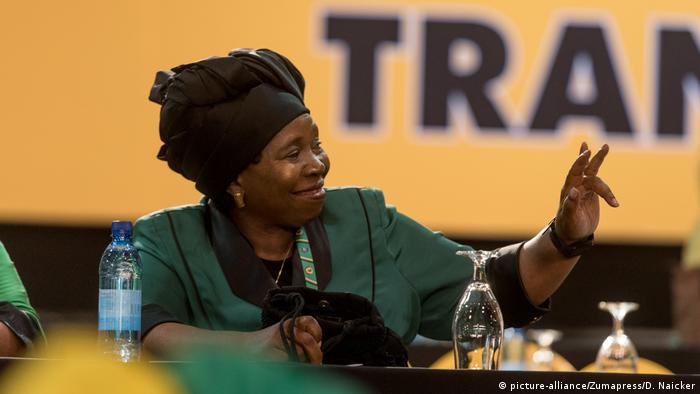 Südafrika ANC Parteitag Nkosazana Dlamini-Zuma