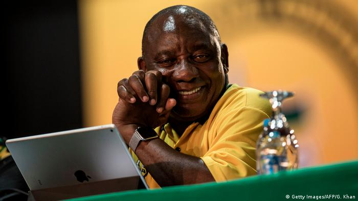 Cyril Ramaphosa (Getty Images/AFP/G. Khan)