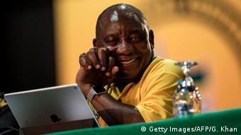 Südafrika ANC Parteitag Ramaphosa