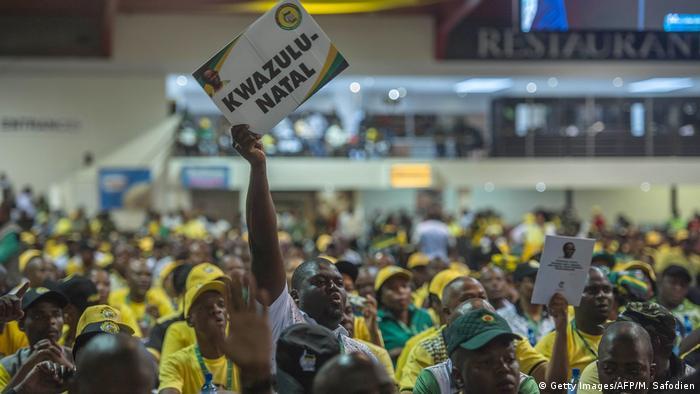 Südafrika ANC Parteitag