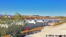Ort: Flüchtlingslager von Thiva in Griechenland (Festland)