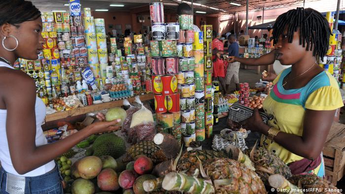Mercado em Cabinda