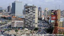 A general view of Luanda Central Business District is pictured in Luanda on December 21, 2009. The OPEC oil producers' cartel will hold output quotas unchanged at its impending meeting due to be held on December 22, 2009, Saudi Minister Ali al-Naimi, its most influential member, said the day before, citing excellent crude price levels. Other members said they would seek to curb high crude stock levels at their meeting on December 22, 2009, their first hosted by new oil power Angola, and played down the prospect of a surge from Iraq's recovering oilfields. AFP PHOTO STEPHANE DE SAKUTIN. (Photo credit should read STEPHANE DE SAKUTIN/AFP/Getty Images)