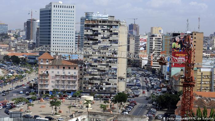 Luanda, a capital de Angola