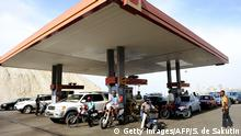 Angola Tankstelle in Luanda