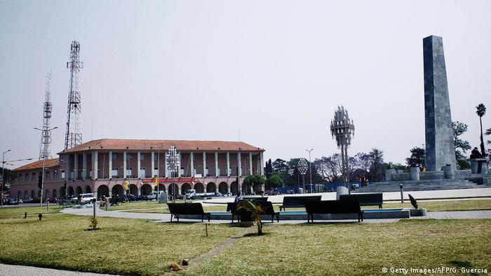 Angola Hauptplatz in Huambo