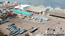 Mosambik Hafen in Maputo