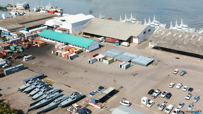 Mosambik Hafen in Maputo (Getty Images/AFP)