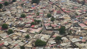 Angola Armenviertel in Luanda