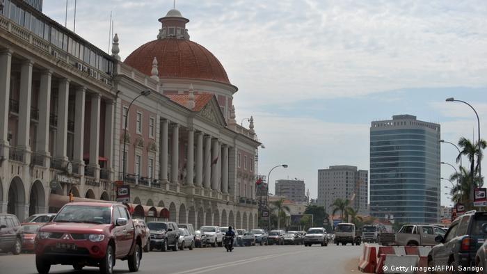 Angola Stadtbild in Luanda