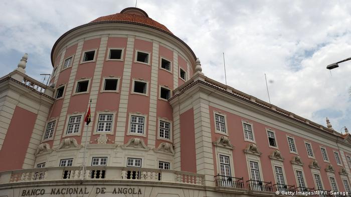 Sede do Banco Nacional de Angola em Luanda