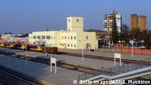 Angola Bahnhof in Huambo