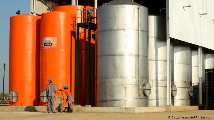 Mosambik Brennstoffherstellung nahe Beira