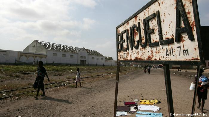 Angola Eisenbahnlinie von Benguela nach Lobito