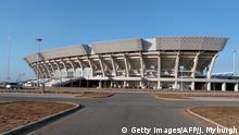 TO GO WITH AFP STORY BY JOHANNES MYBURGH The Zimpeto National Stadium is pictured on August 10, 2011 in Maputo. Authorities are insisting that everything will be ready on time for the start of the All-Africa Games in Mozambique, despite unfinished construction plaguing preparations for the event. More than 5,000 athletes will compete in 24 sports between September 3 and 18, but while neither the programme nor the list of participants has been finalised, many of Africa's top athletes are expected to be absent when the starting pistol is fired. AFP PHOTO / JOHANNES MYBURGH (Photo credit should read Johannes Myburgh/AFP/Getty Images)