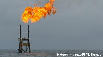 Angola Ölförderung vor der angolanischen Küste