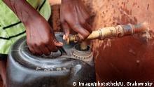 Mosambik Landwirtschaft Wasserstelle in Chimangue