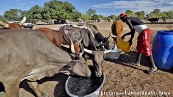 Mosambik Dürre in Guija