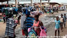 Angola Markt in Luanda