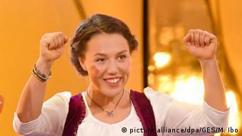Deutschland Laura Dahlmeier Sportler des Jahres 2017 (picture alliance/dpa/GES/M. Ibo)