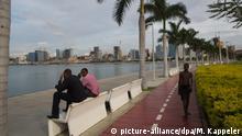 Angola Skyline von Luanda