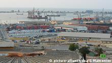 2297809 Angola, Luanda. 10/07/2013 A view of Luanda commercial port. Sergey Mamontov/RIA Novosti |