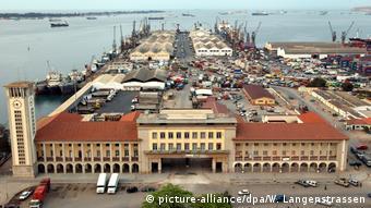 Port de Luanda, la capitale angolaise