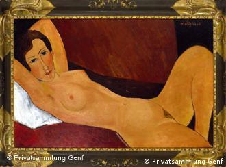 Desnudo de Céline Howard, 1918.