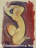 Su obra mezcla cubismo, expresionismo e influencias del arte africano.