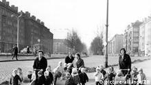 Kinder Kindergarten-Kinder in der DDR Berlin Danziger Straße