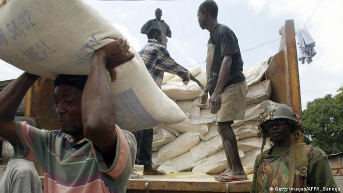 Nigeria humanitarian aid