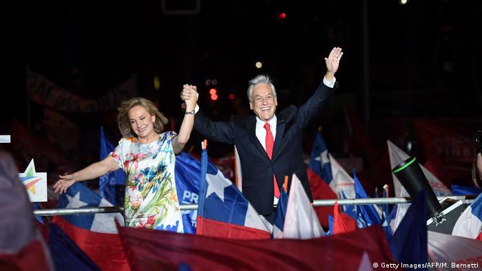 CHILE: El conservador Piñera gana con amplia ventaja las elecciones presidenciales en Chile