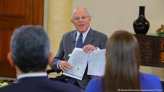 Peru Pedro Pablo Kuczynski (Reuters/Peruvian Government Palace)